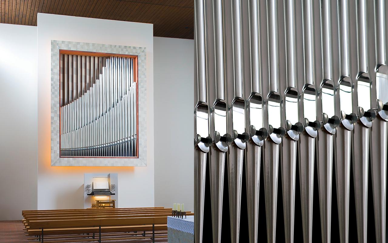 Die Orgel Mariä Aufnahme in den Himmel Roth