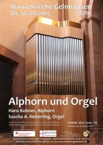 2015 08 30 Orgelkonzert Plakat