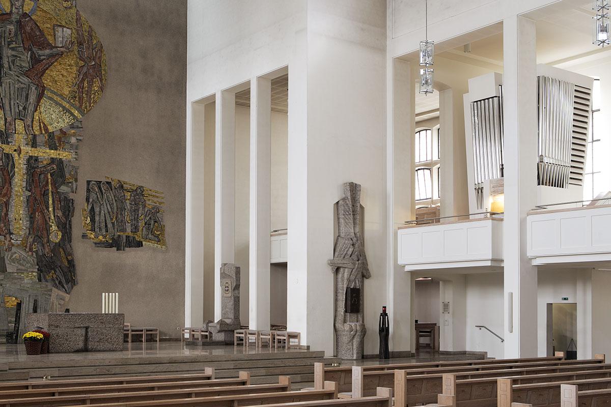 Die Chororgel Domkirche St. Eberhard Stutgart