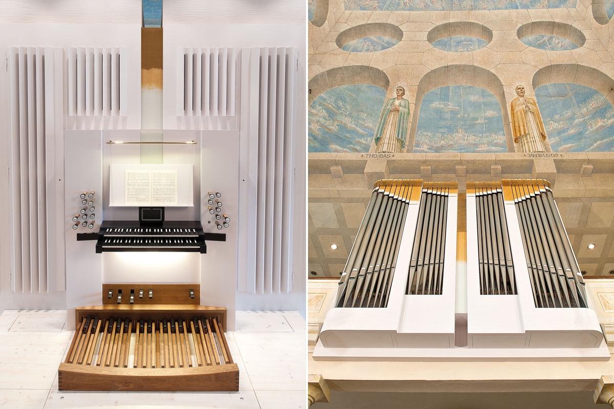 Die Orgel Freiburg Zähringen, Spielanlage