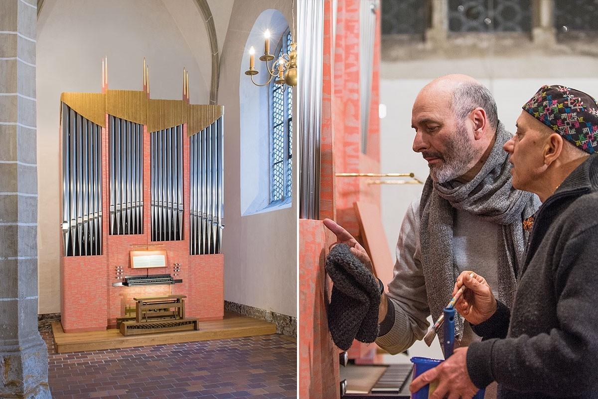 Orgel Freiberg / Claudius Winterhalter, Frieder Haser