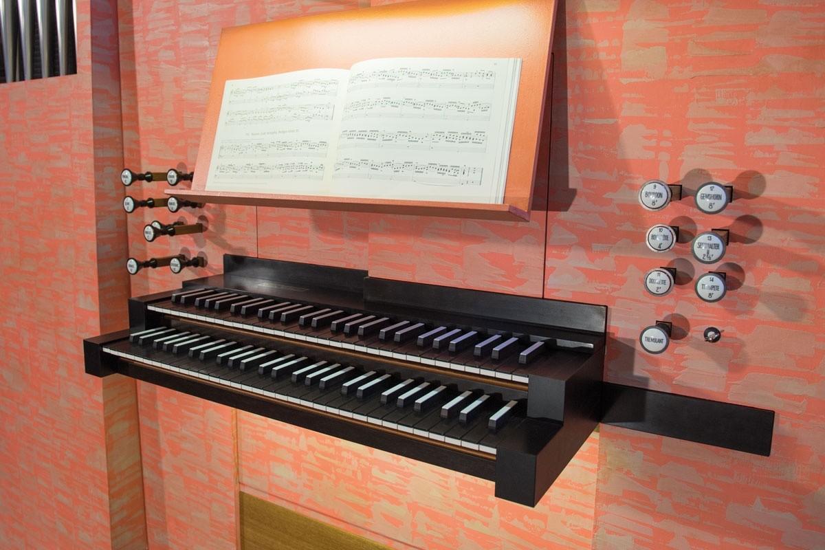 Spielanlage, Orgel Freiberg