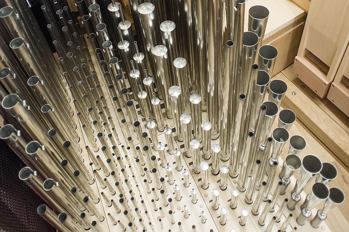 Pfeifenwerk, Orgel Freiberg